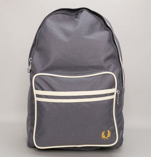 Fred Perry Twin Tipped Backpack Mid Grey