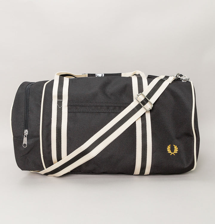 Twin Tipped Barrel Bag - Black