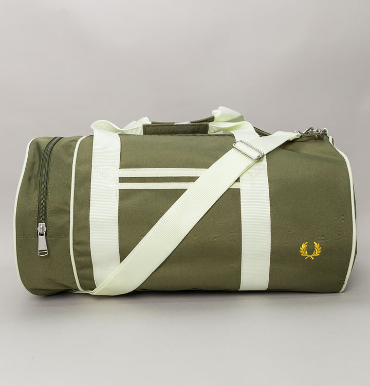 Twin Tipped Barrel Bag - Washed Khaki