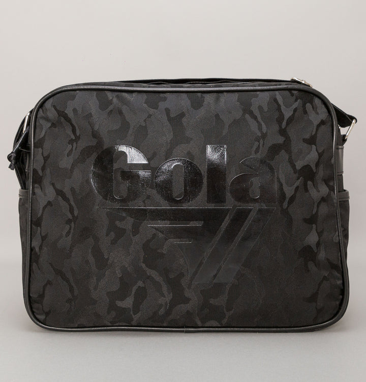 Redford Military Shoulder Bag - Black