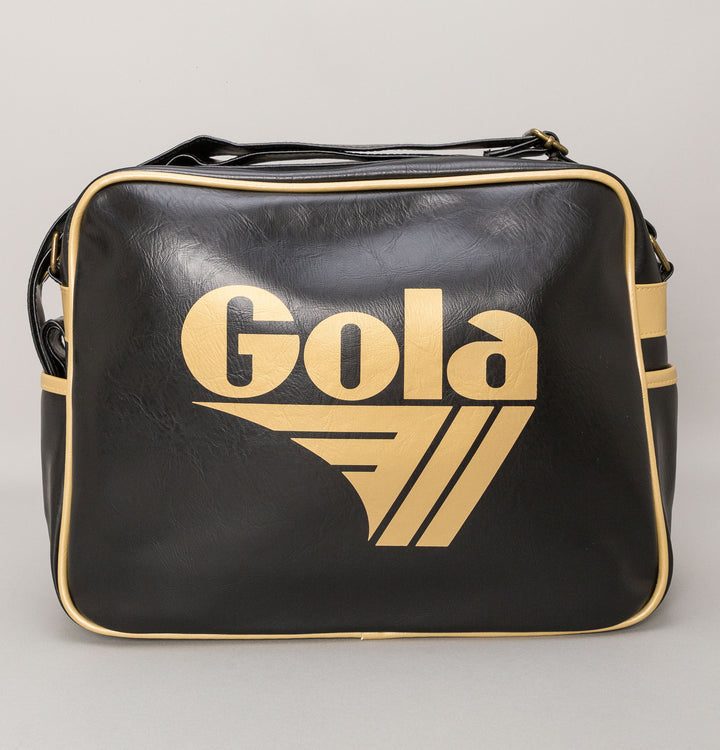 Redford Shoulder Bag - Black/Gold