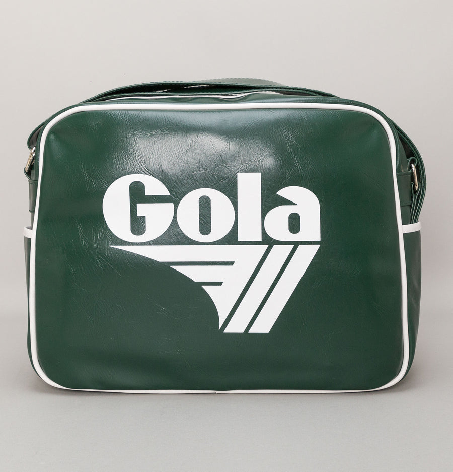 Gola Redford Shoulder Bag Bottle Green/White