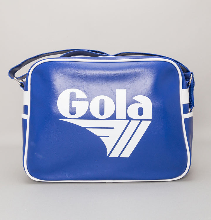Redford Shoulder Bag - Reflex Blue/White