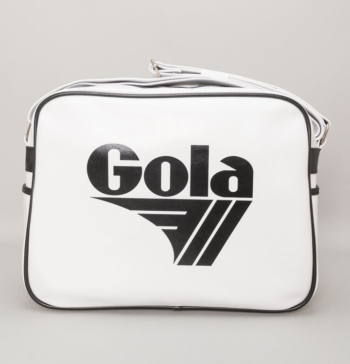 Redford Shoulder Bag - White/Black