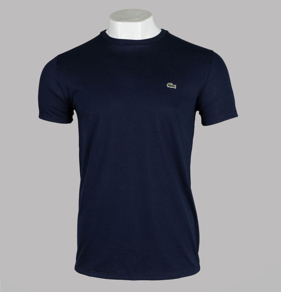 Lacoste Pima Cotton Jersey T-Shirt Navy
