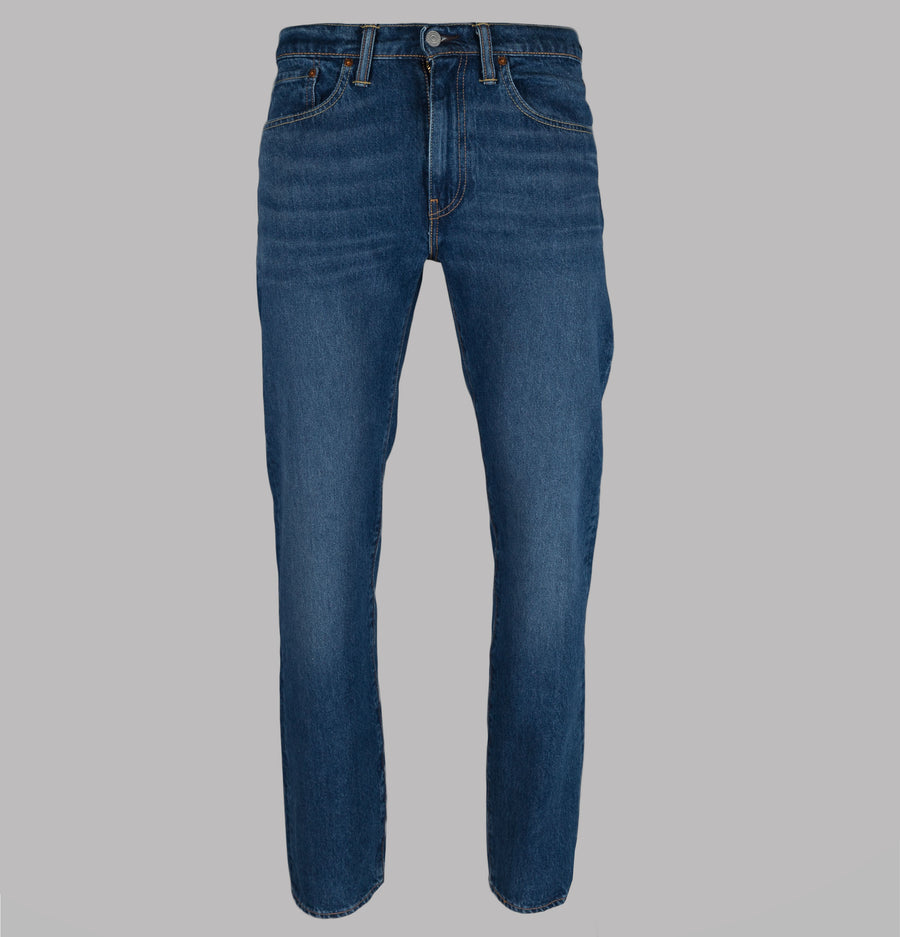Levi's® 502™ Regular Taper Fit Stretch Jeans Mid City