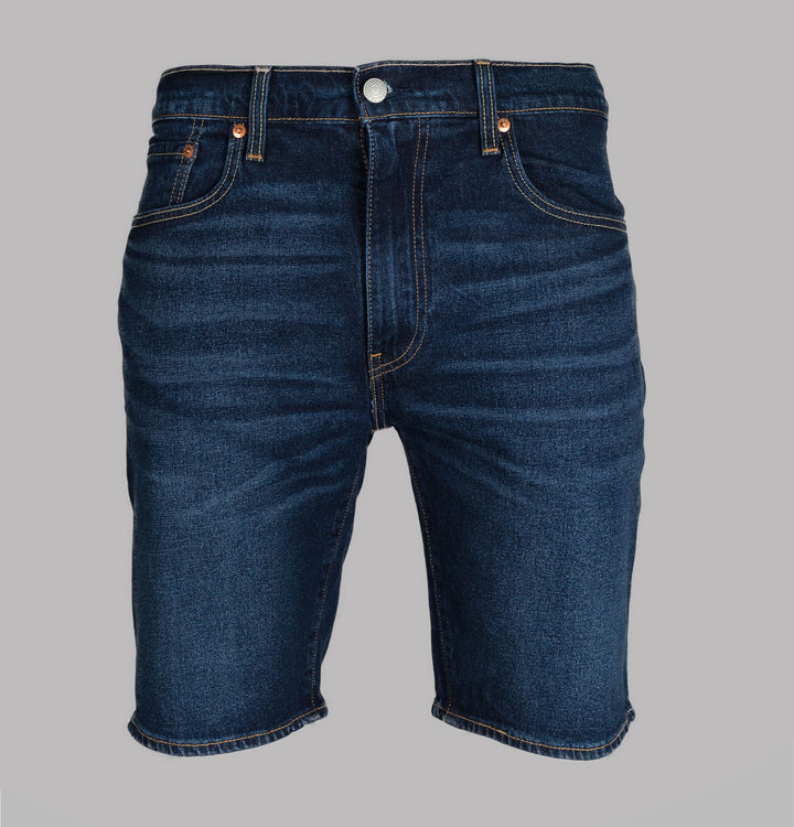 Levi's® 502™ Regular Taper Hemmed Shorts Cheviot