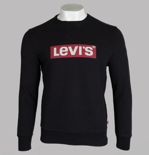 Levi's® Graphic Crew Sweatshirt Black