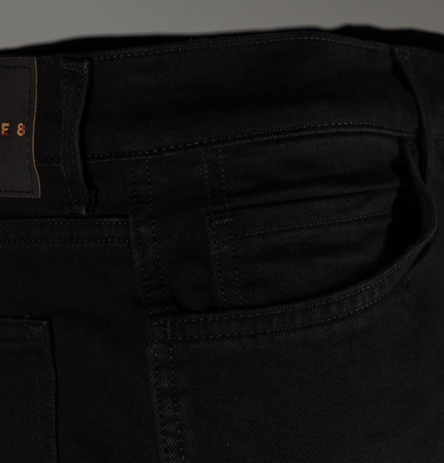 Levi's® Line 8 Slim Straight Fit Jeans Black