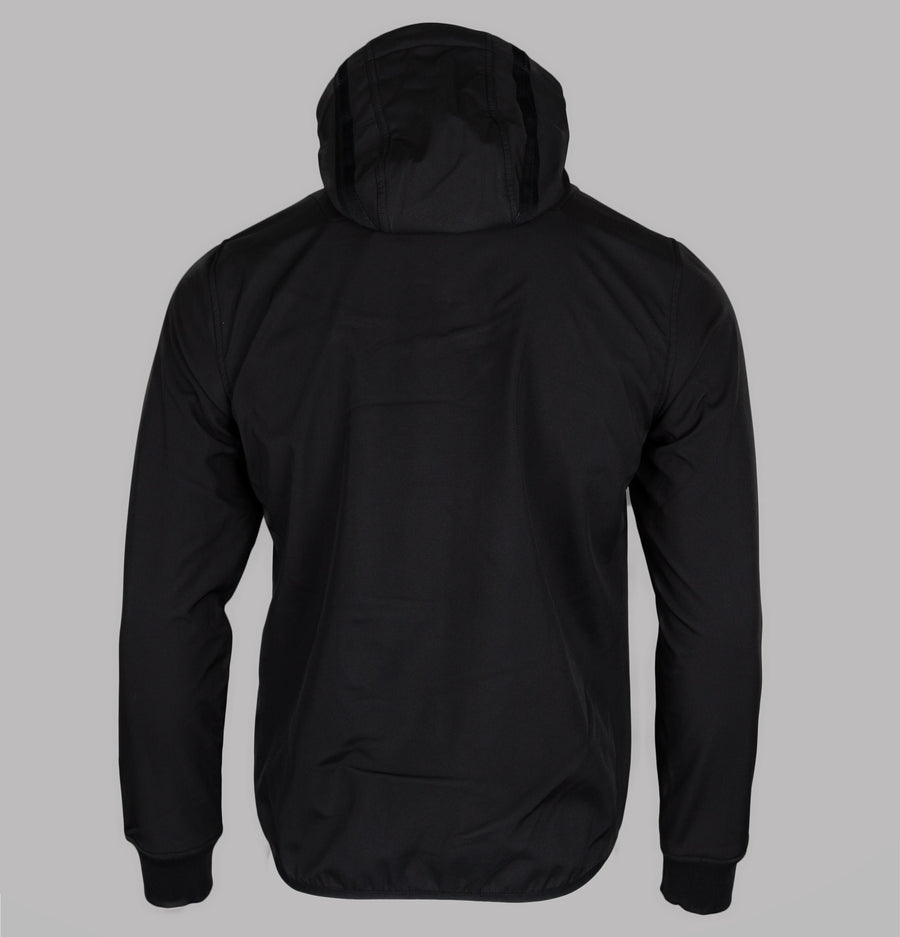 Ma.Strum Titan Soft Shell Hooded Jacket Jet Black