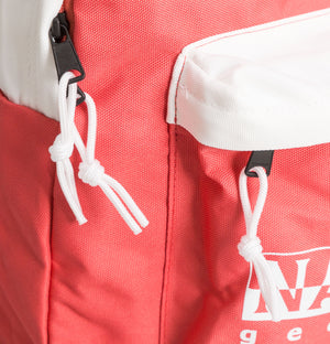 Napapijri Happy Day Backpack Pastel Pink/White