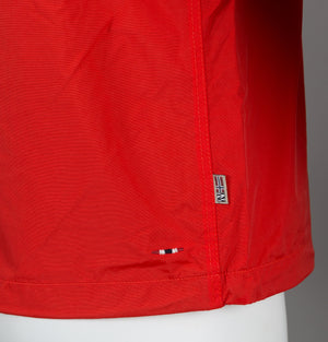 Napapijri Rainforest Summer Jacket Bright Red