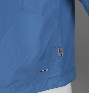 Napapijri Rainforest Summer Jacket Light Blue