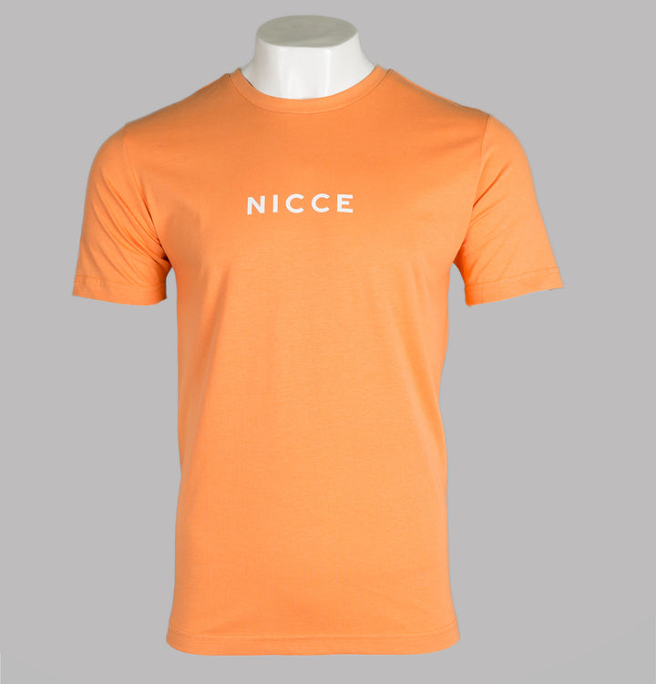 Nicce Centre Logo T-Shirt Coral