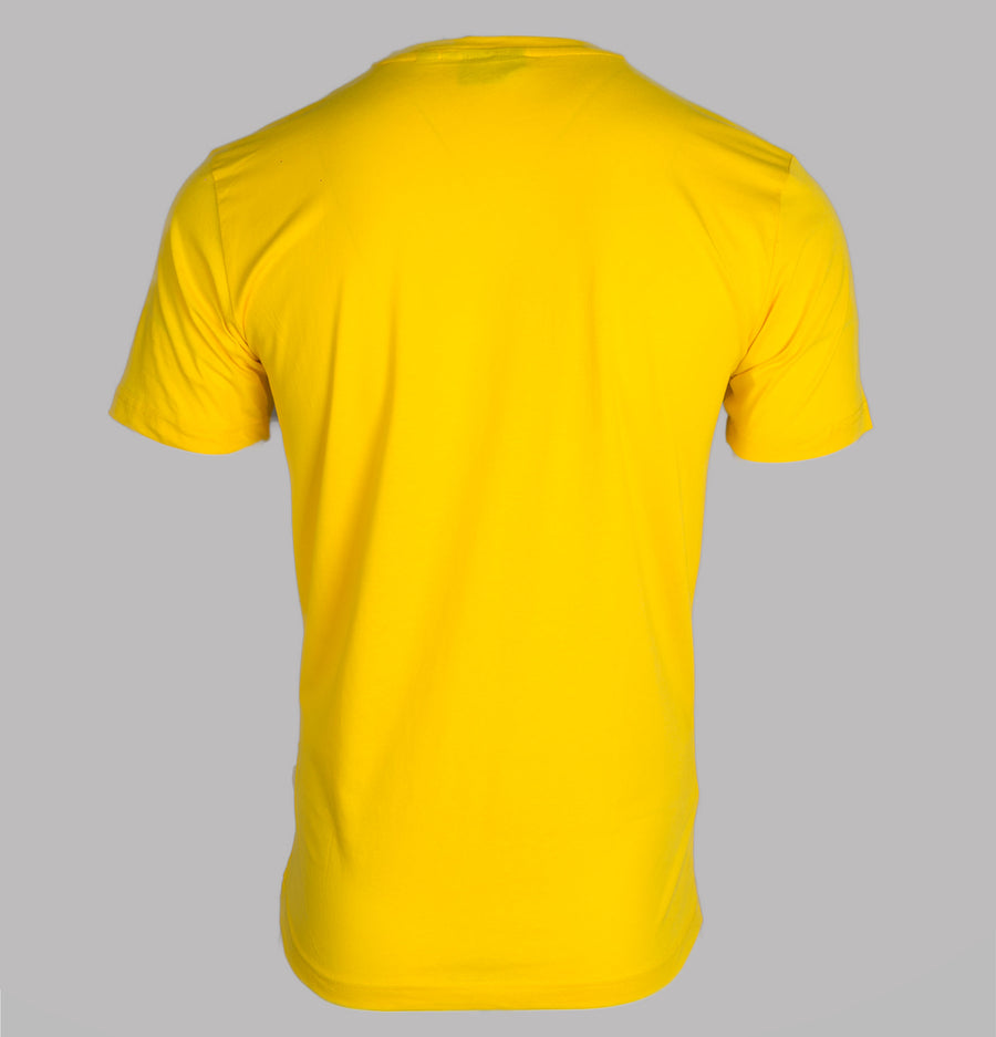 Nicce Centre Logo T-Shirt Bright Yellow