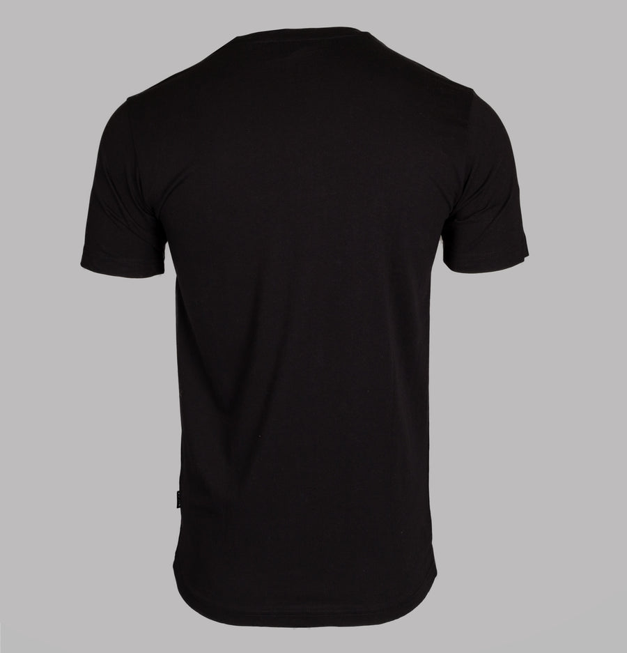 Nicce Chest Logo T-Shirt Black
