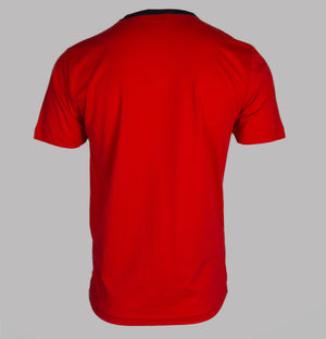 Nicce Palms T-Shirt Red