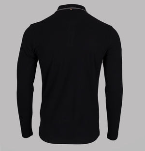 Barton L/S Tipped Polo Shirt