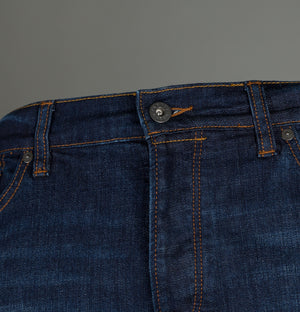 Pretty Green Burnage Regular Fit Jeans 6 Month Wash