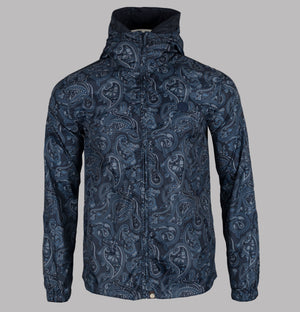 Pretty Green Paisley Print Hooded Jacket