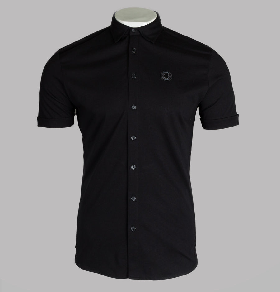 Religion Electric Cotton Jersey Shirt Black