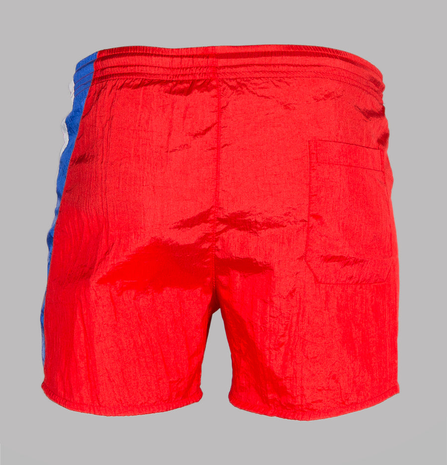 Religion Flash Swim Shorts Red