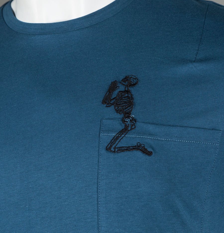 Skeleton Pocket T-Shirt
