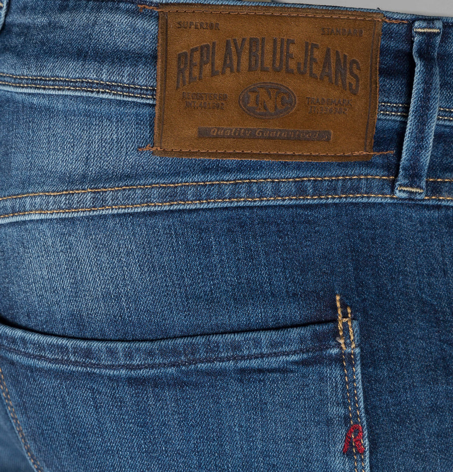 Replay Anbass Slim Fit Super Stretch Jeans