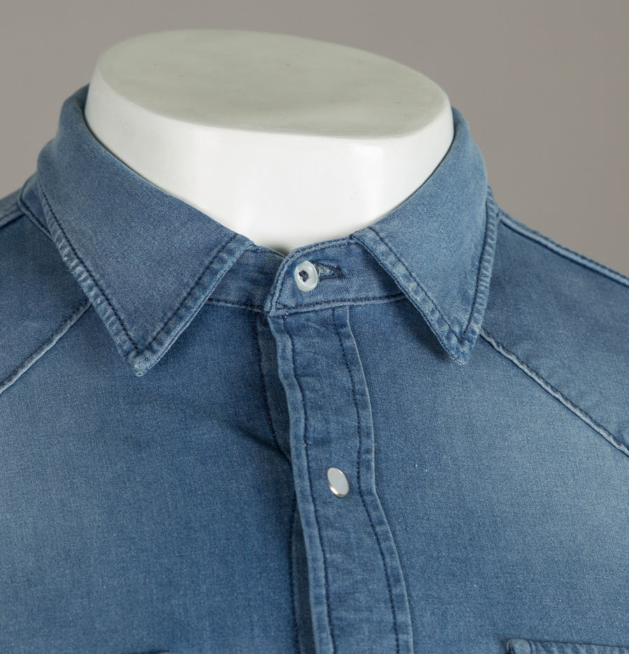 Replay Hyperflex Slim Fit Denim Shirt