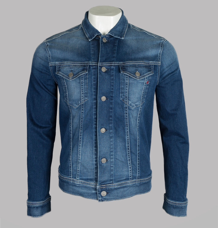 Replay Hyperflex Used Effect Denim Jacket