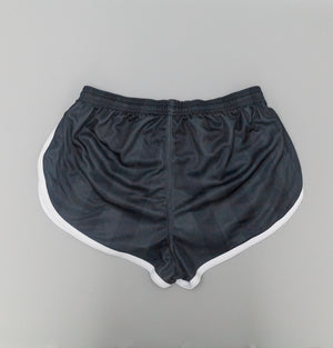 Sik Silk Retro Stripe Shorts Black