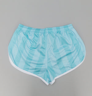 Sik Silk Retro Stripe Shorts Teal