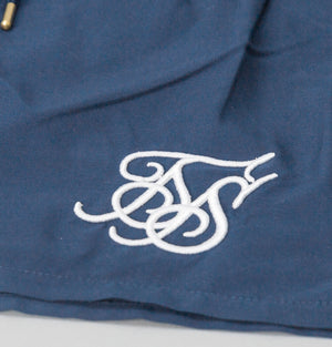 Sik Silk Standard Swim Shorts Navy Blue