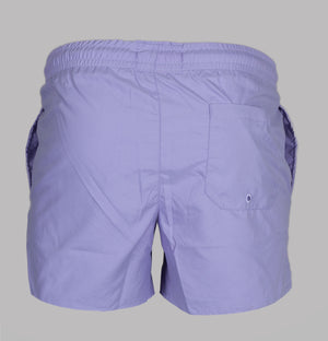 Sik Silk Bound Swim Shorts Grape