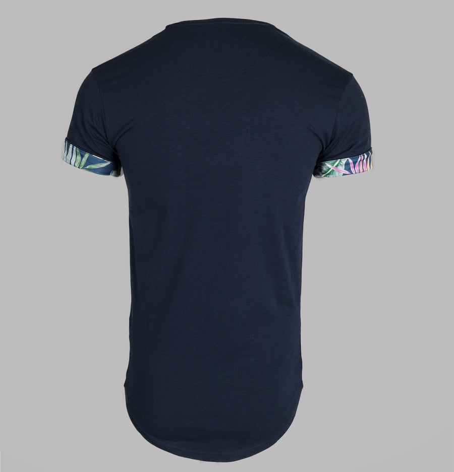 S/S Jeremy Vine Rolled Sleeve Tee