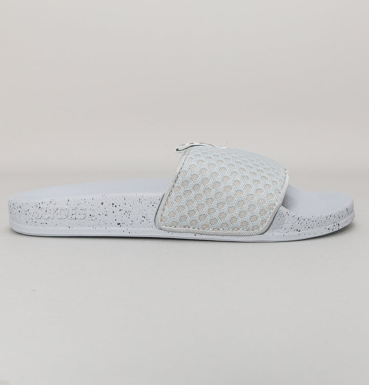 Slydes Cruz Mesh Slides Grey