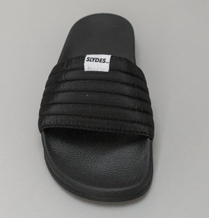 West Nylon Quilted Slides