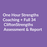 CliftonStrengths 34 + Strengths Coaching Gift Bundle