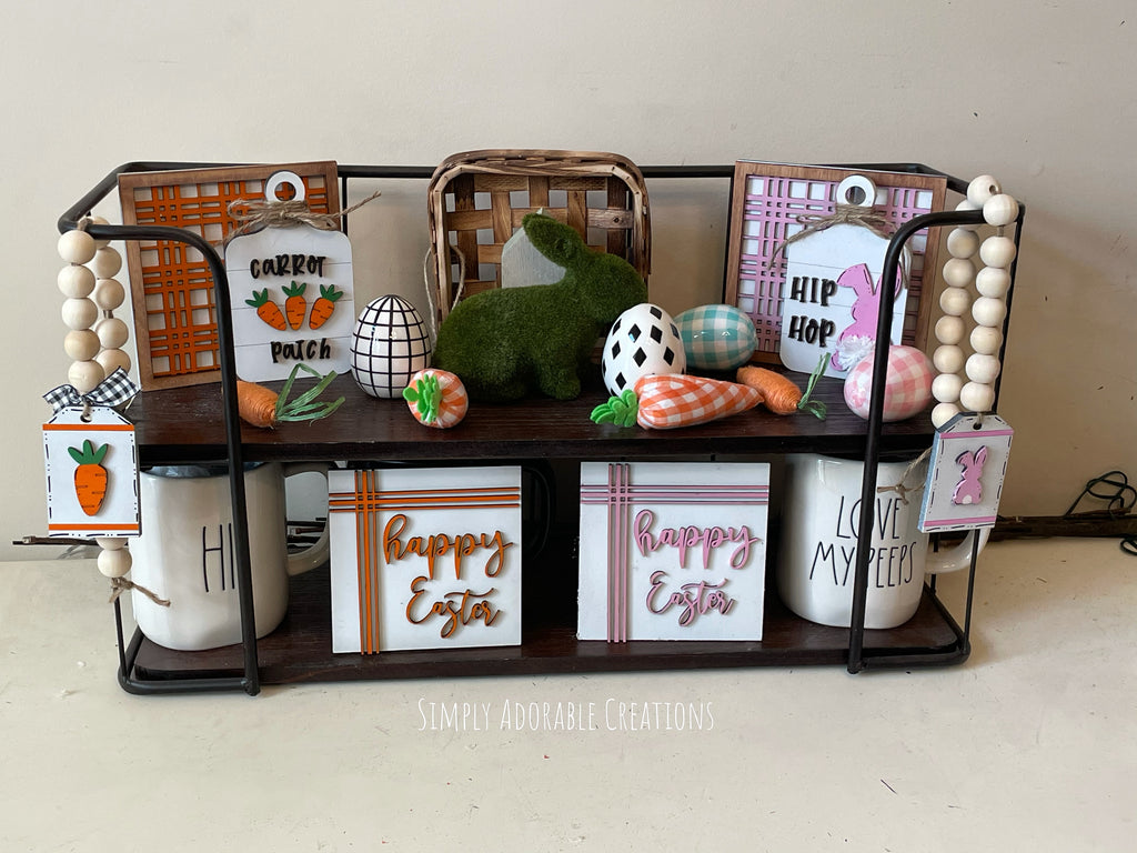 Easter Tiered Tray Set