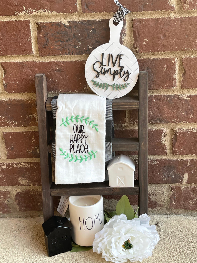Tea Towel ladder live sale