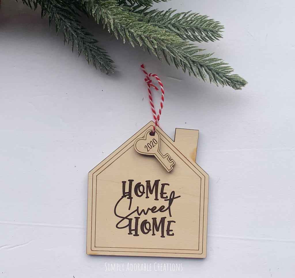 Home Sweet Home House Ornament