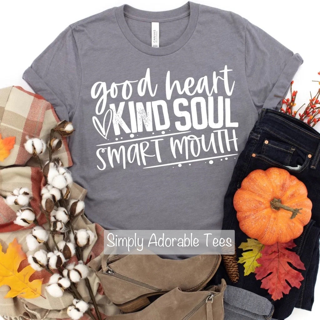 Good Heart Kind Soul T Shirt
