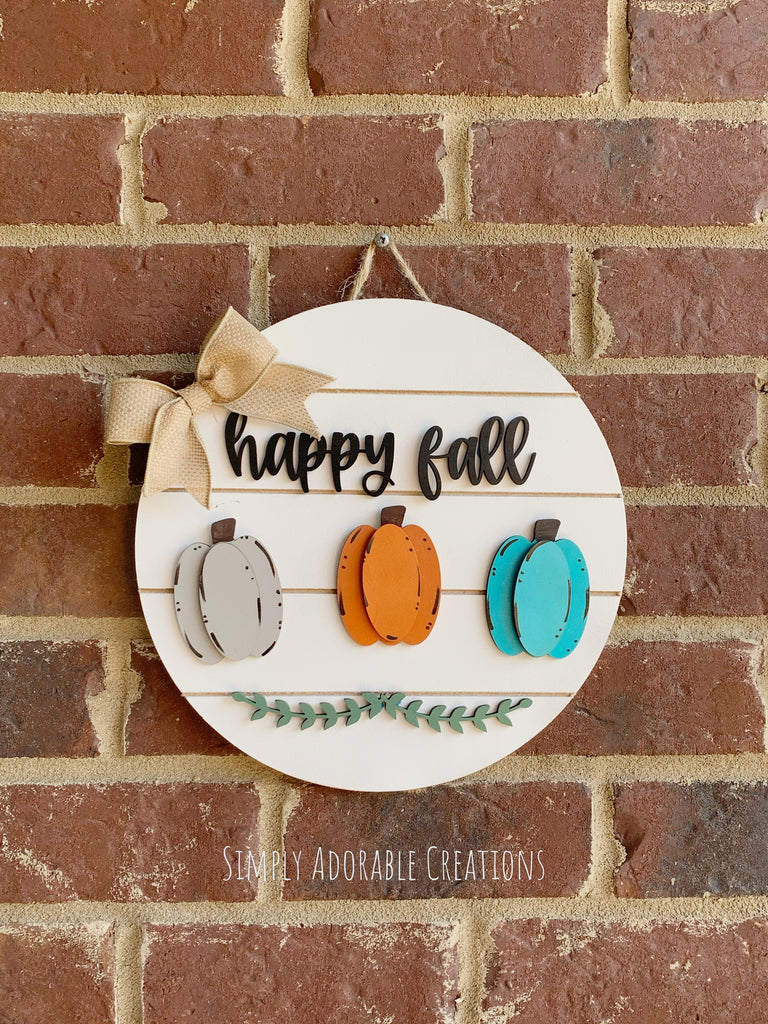Hello Fall Shiplap Sign