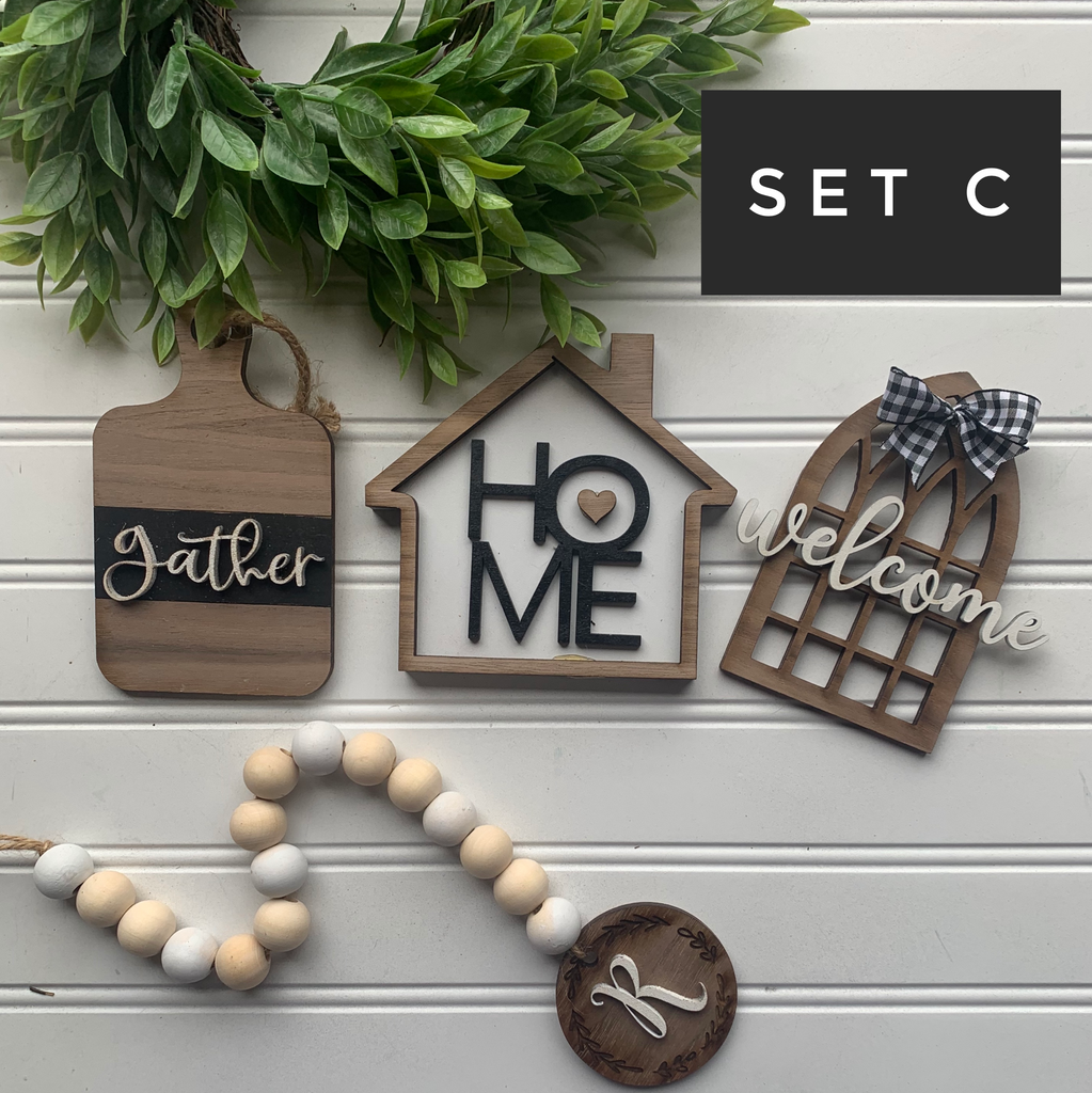 Everyday Home Tiered Tray Bundle