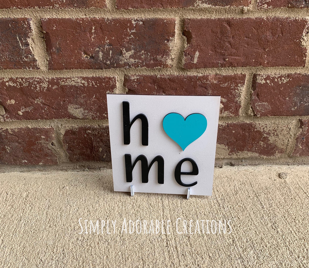 Mini Home Sign - Simply Adorable Creations