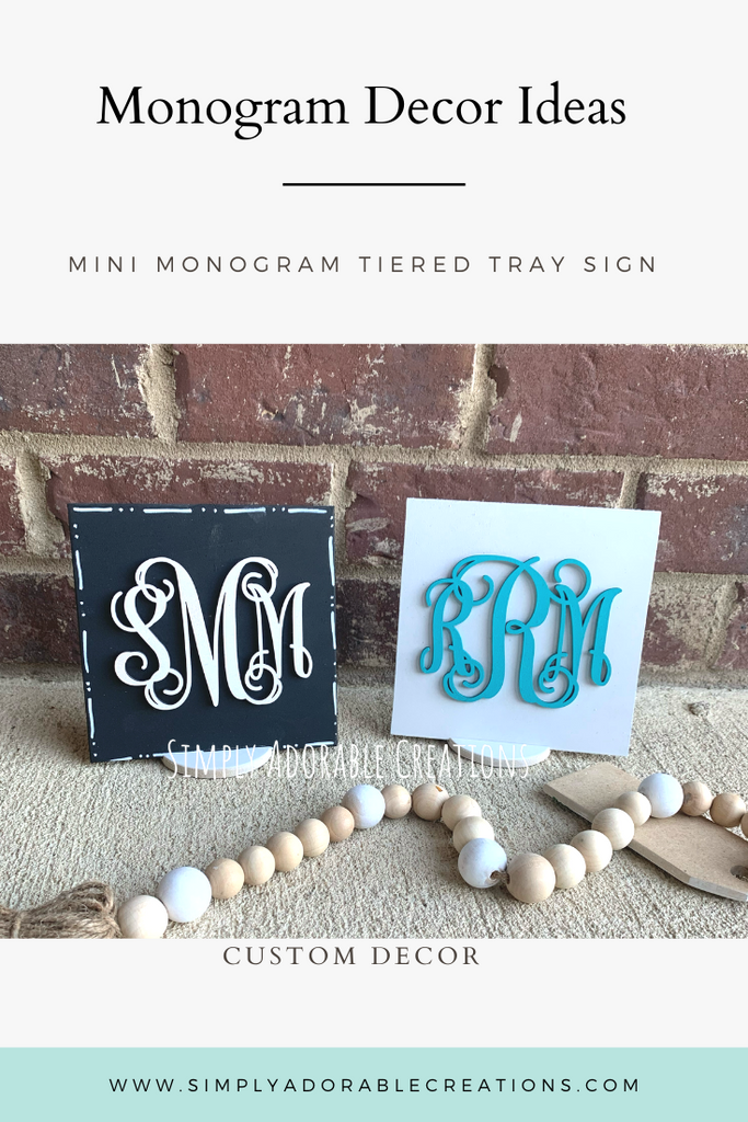 Mini Monogram Signs_group giveaway - Simply Adorable Creations