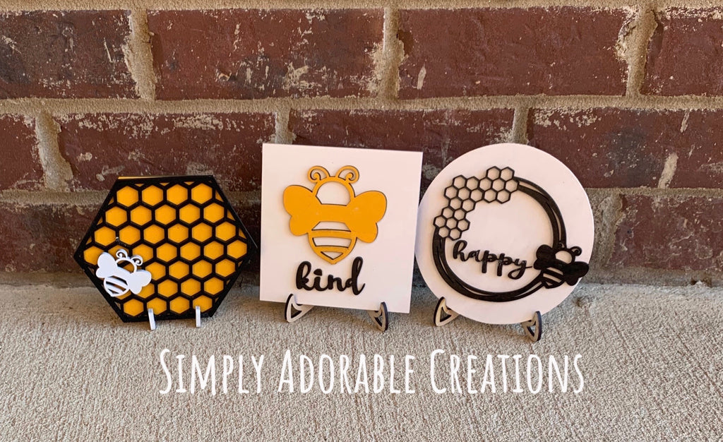Mini Bumblebee Signs