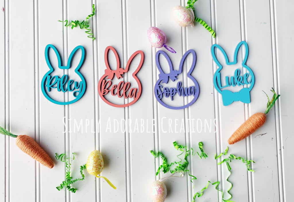 Easter Gift Tags - Simply Adorable Creations