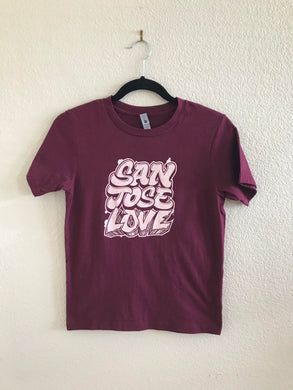 classic san josé love short sleeve crewneck / youth