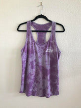 sj heart hand-dyed racerback tank / ladies